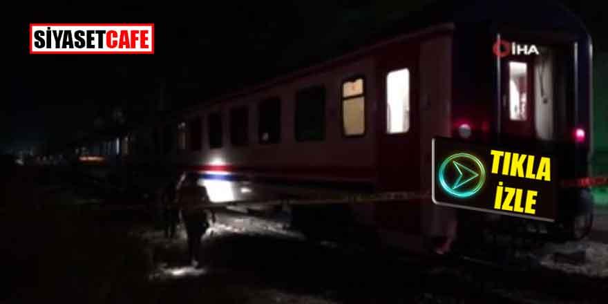 Ankara'da feci olay! Raylara düşen kadın parçalandı -Video haber-