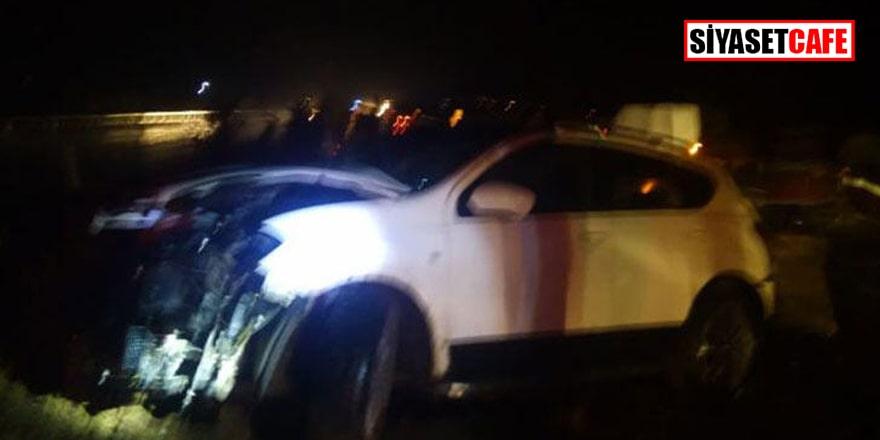 Kahramanmaraş'ta feci kaza: Kafa kafaya çarpıştılar