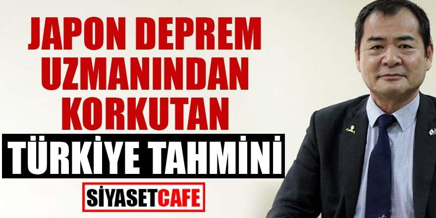 Japon deprem uzmanından korkutan Türkiye tahmini