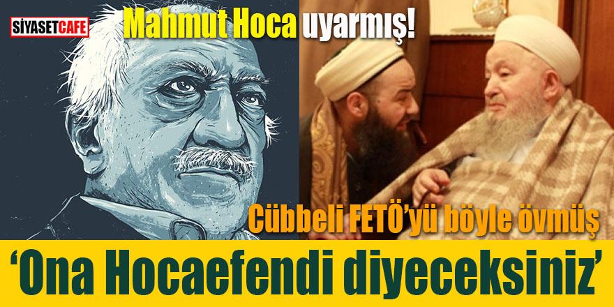 """Cübbeli Ahmet, """"Mahmut Hoca dedi"""" diye FETÖ'yü böyle övmüş!"""
