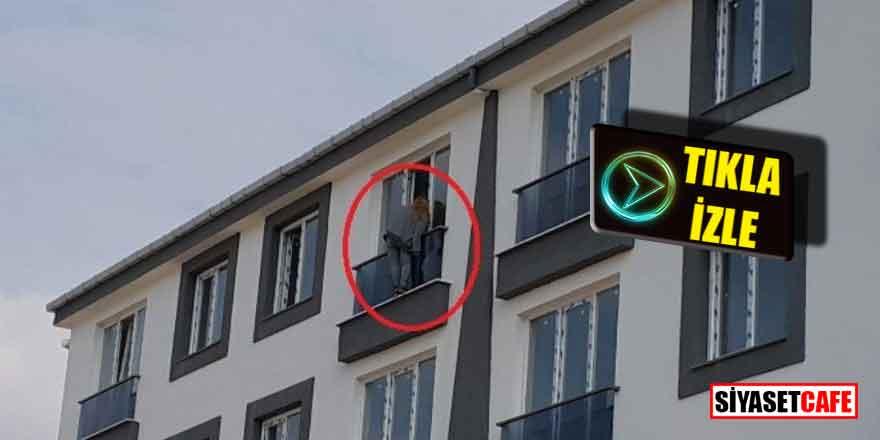 Kars'ta genç kız pencereye cikip eline bicagi aldi ve...
