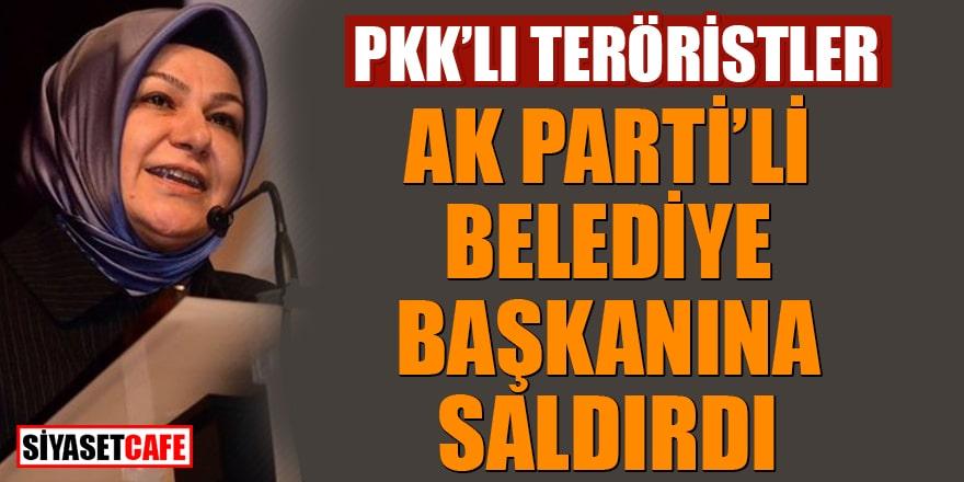 PKK'lı teröristler AK Partili Belediye Başkanı'na saldırdı