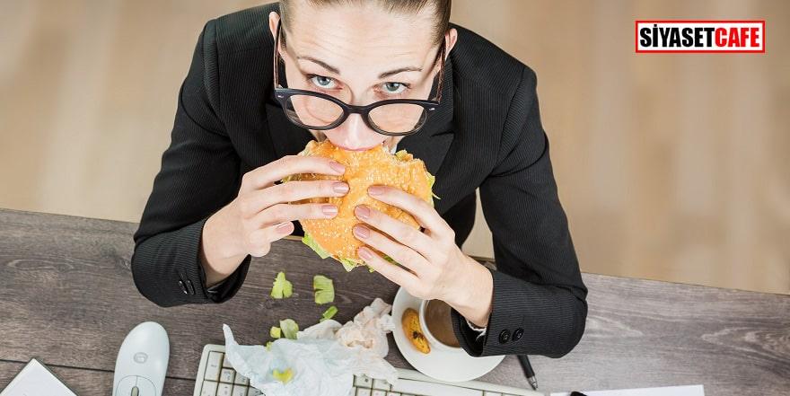 İş yerinde tükenmişlik sendromu kilo sebebi