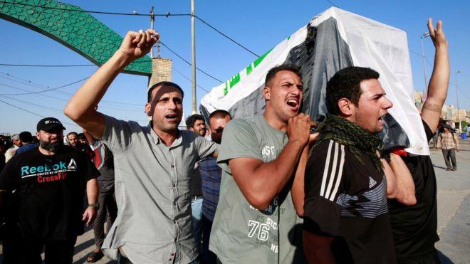 Irak'ta şiddet durmuyor! 5 günde 100 ölü, 5 bin 500 yaralı