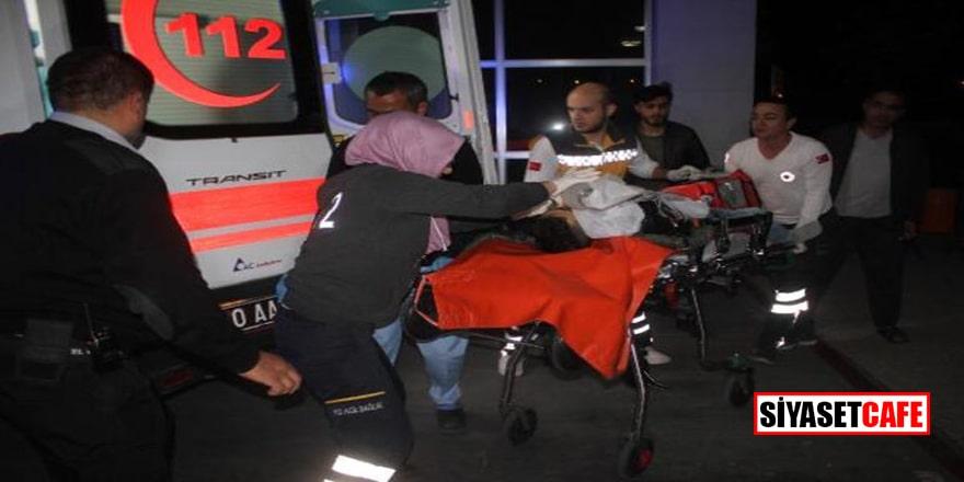 Karaman'da baba dehşeti: Oğlunu bıçakladı