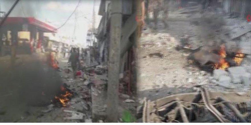 PYD'den bombalı saldırı; Çok sayıda ölü ve yaralı var