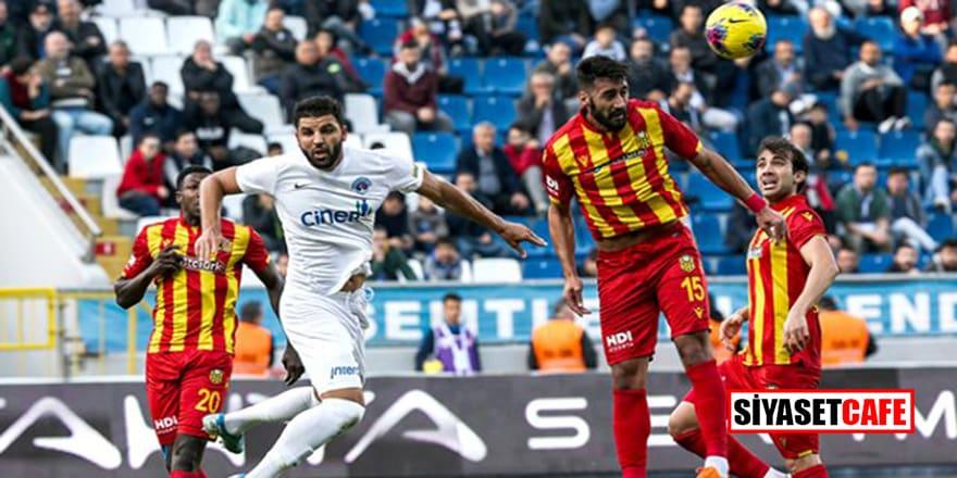 Yeni Malatyaspor son dakikada şoku yaşadı!