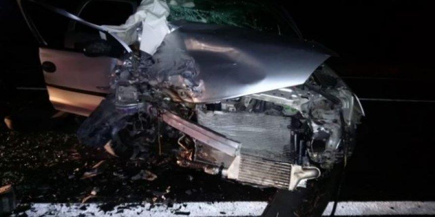 Karabük'te feci kaza: 1 ölü 6 yaralı