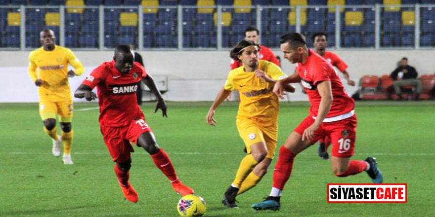 Gaziantep FK'dan kritik galibiyet!