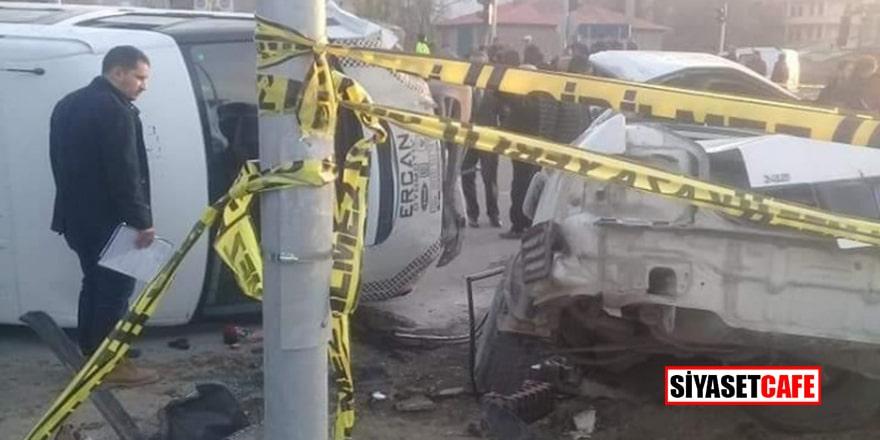Muş'ta feci kaza: Ölü ve yaralı var