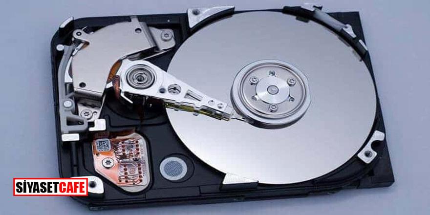 Dev gibi bir sabit disk geliyor