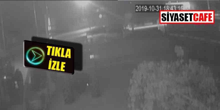 Muğla'da polis aracını soyarken kameraya böyle yakalandı