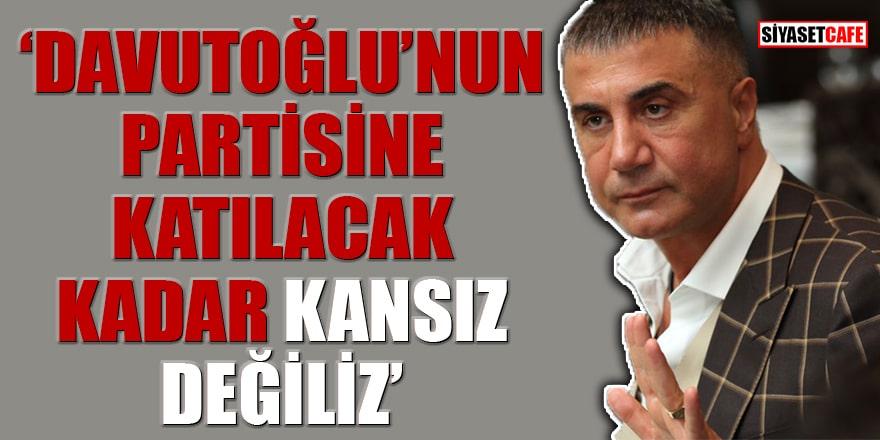 Sedat Peker, 'Davutoğlu'nun partisine katılacak' iddiasına 'Biz kancık değiliz' dedi