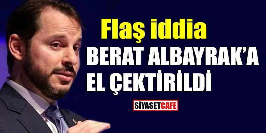 İYİ Parti'den flaş iddia: Berat Albayrak'a el çektirildi