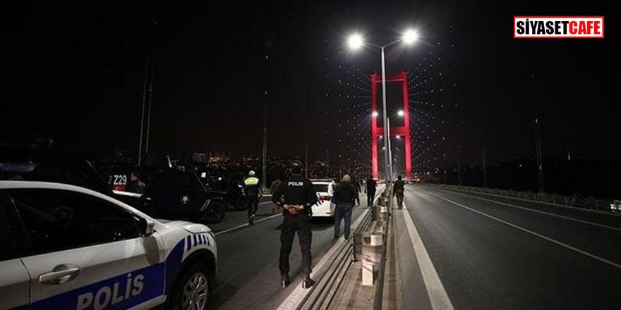 15 Temmuz Şehitler Köprüsü'nde intihar şoku