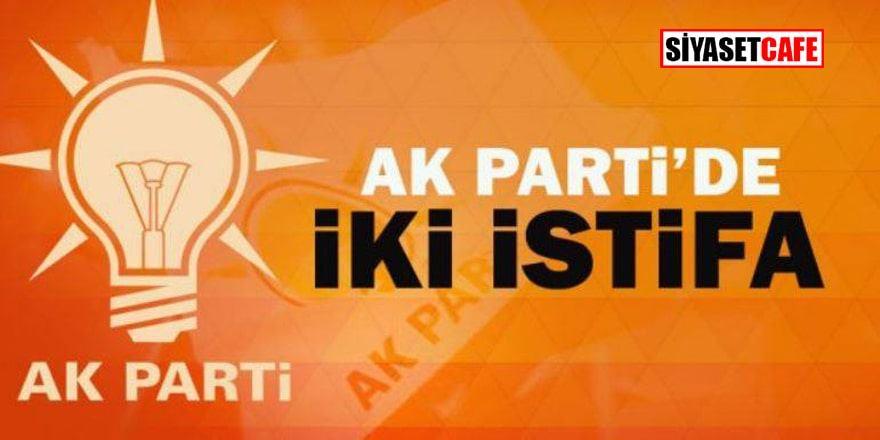 AK Parti'den iki istifa