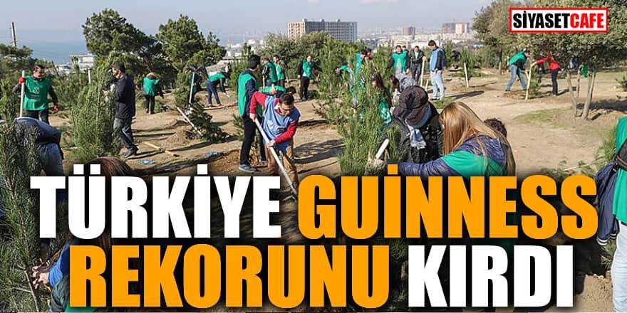 Türkiye Guinness rekorunu kırdı