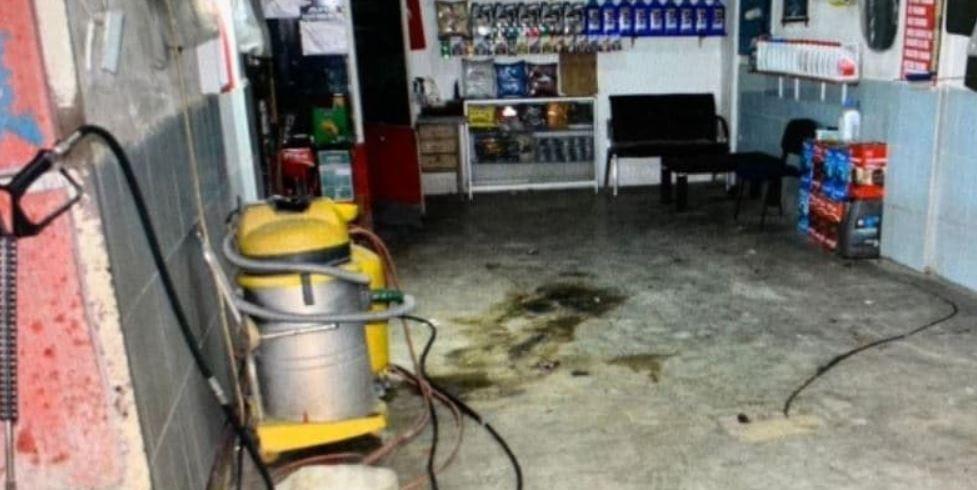 Amasya'da şiddet gören kadın, kocasının işyerini bombaladı