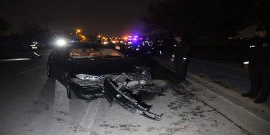 Konya'da korkunç kaza: İçinde polislerin de olduğu yaralılar var