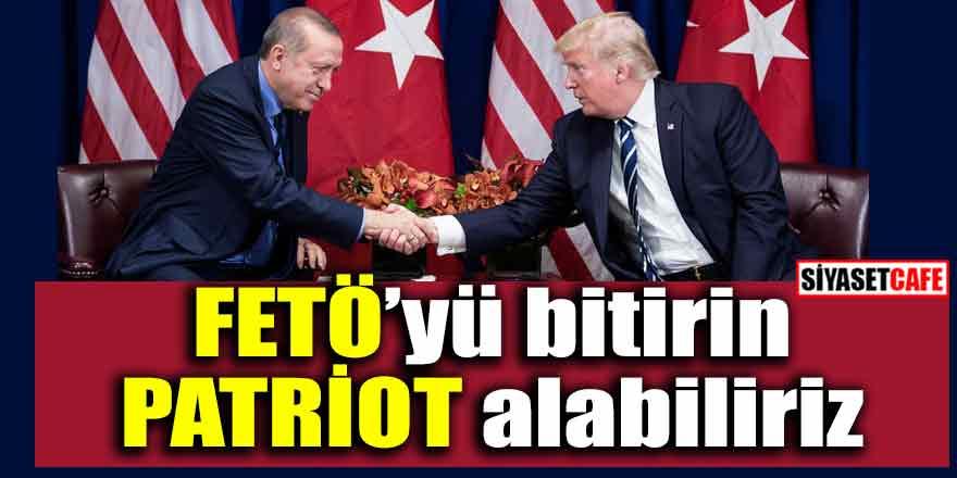Erdoğan;  'S400 sistemi F35 ve Patriot konularında anlaşabiliriz