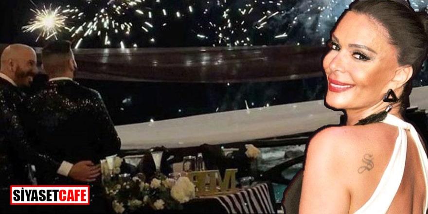Şarkıcı Sevda Demirel'in erkek yeğeni bir erkekle evlendi!