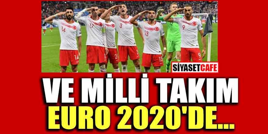 Türk Milli takımı Euro 2020'ye gidiyor...