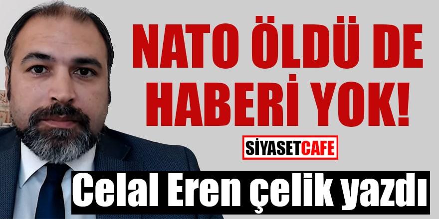 Celal Eren Çelik yazdı: NATO öldü de haberi yok!