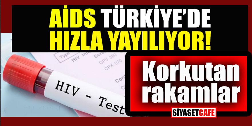 AİDS Türkiye'de hızla yayılıyor; korkutan rakamlar...