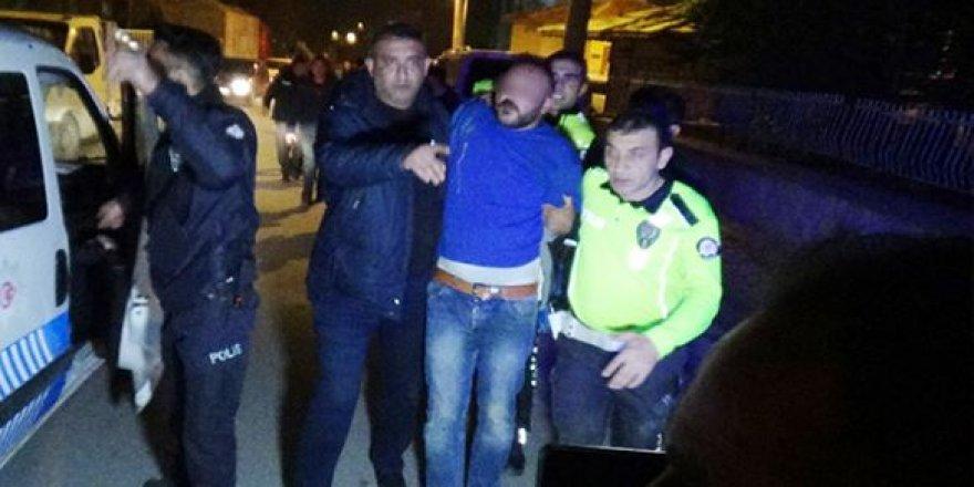 Kütahya'da polis ekibine silahlı saldırı