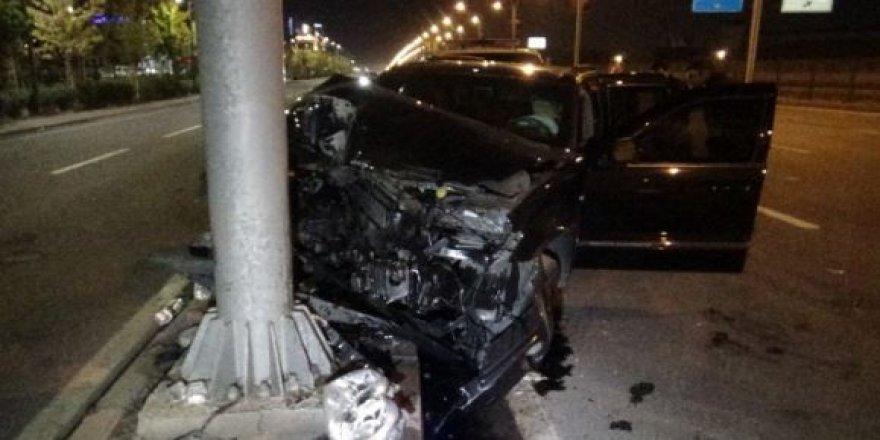 Diyarbakır-Şanlıurfa yolunda feci kaza: Çok sayıda yaralı var
