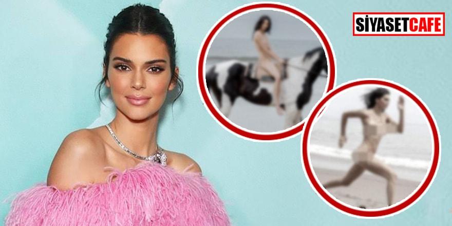 Kendall Jenner'ın sızdırılan çırılçıplak fotoğrafları şoke etti
