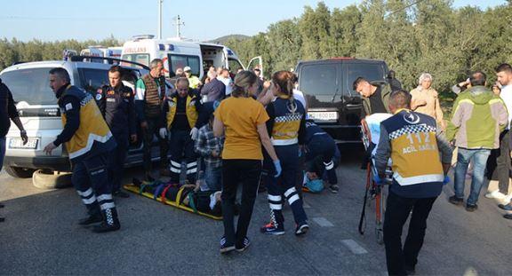 Bursa'da korkunç kaza: 10 yaralı