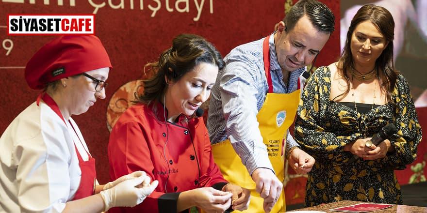 Kayseri Gastronomi Turizmi Çalıştayı tamamlandı