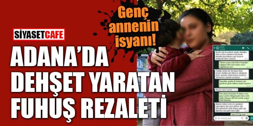 Adana'da dehşet yaratan fuhuş rezaleti!