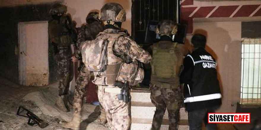 Gaziantep'te 720 polisin katıldığı dev operasyon!