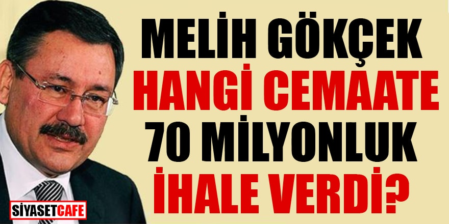 Celal Eren Çelik'ten Melih Gökçek'e 70 milyonluk ihale sorusu