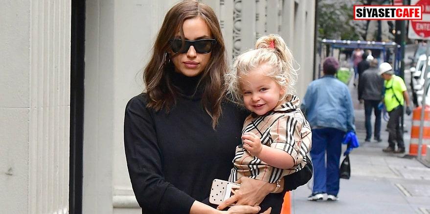 Dünyaca ünlü model İrina Shayk'ın kızı büyüdü