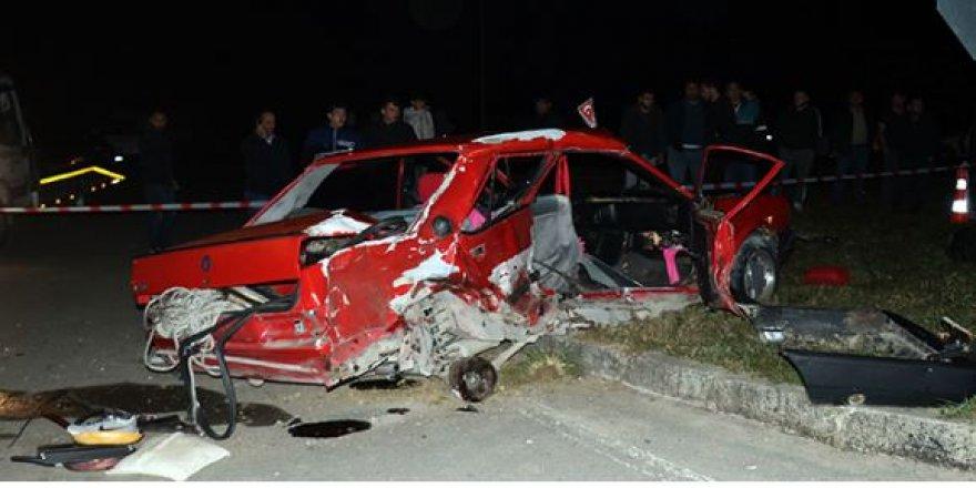 Sakarya'da korkunç kaza: 2 ölü