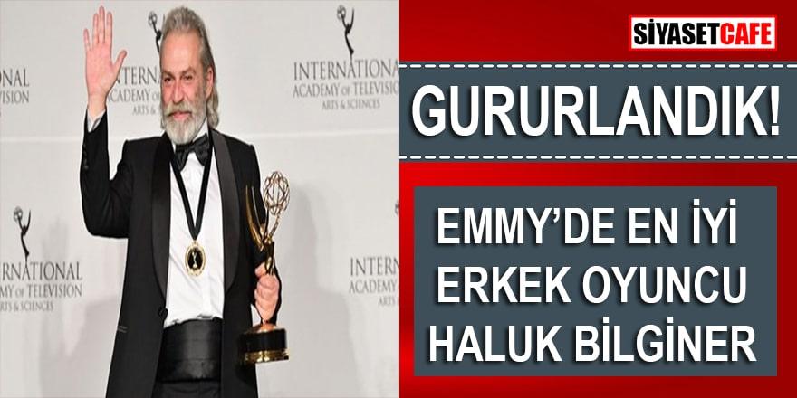 47. Emmy Ödülleri sahiplerini buldu, En İyi Erkek Oyuncu: Haluk Bilginer