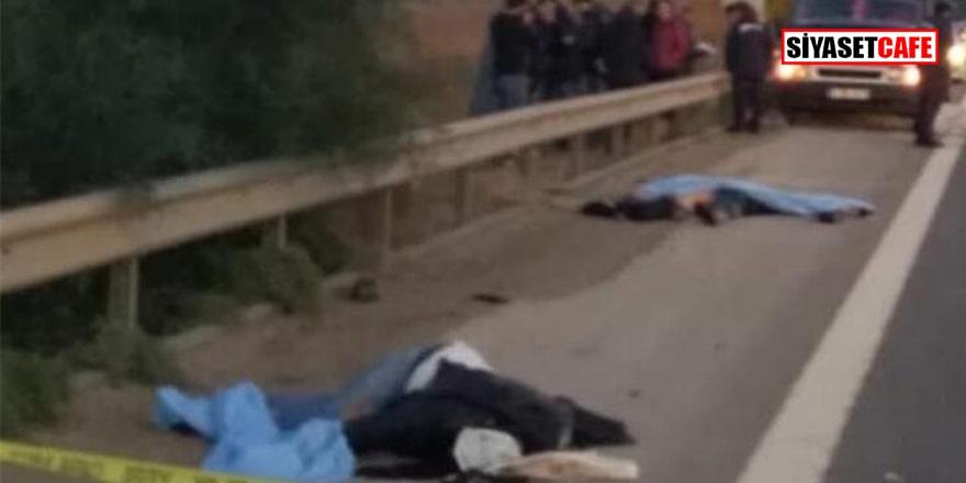 Mersin'de lastik değiştirme faciası: 3 kişi öldü