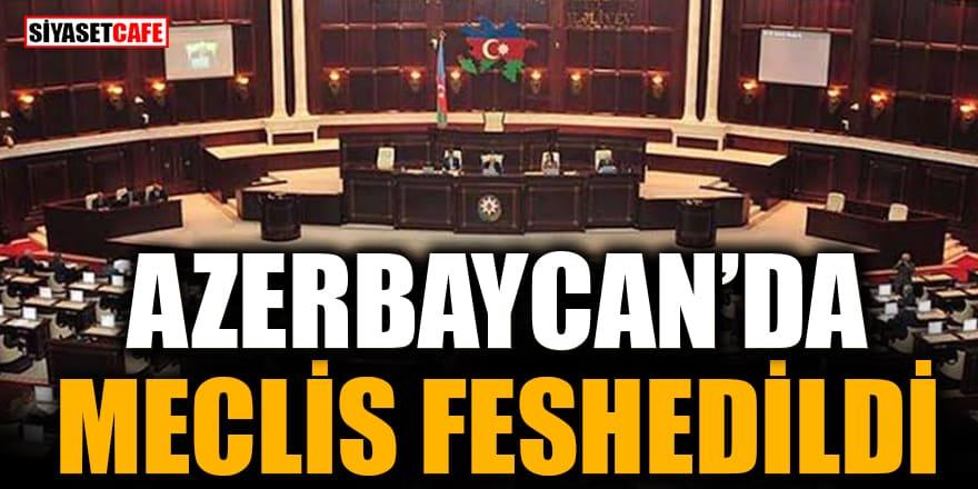 Azerbaycan'da Meclis feshedildi
