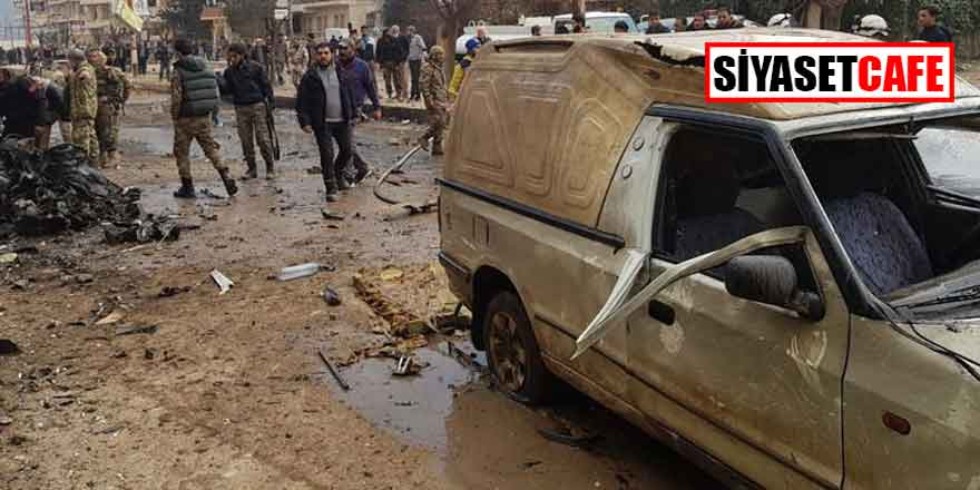 Afrin'de bomba yüklü araç saldırısı!