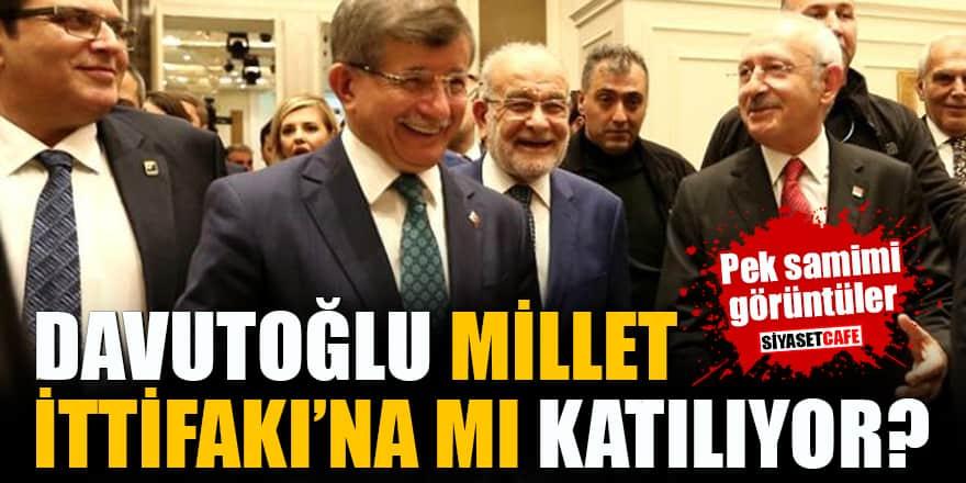 Ahmet Davutoğlu Millet İttifakı'na mı katılıyor?