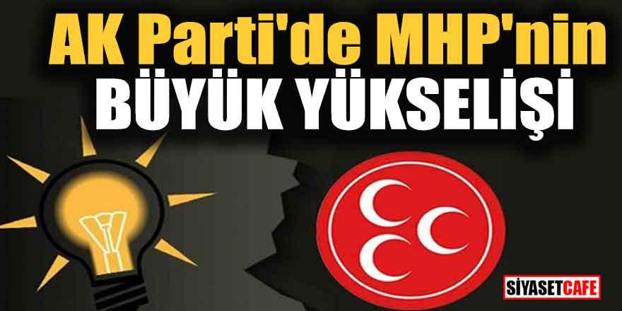 AK Parti'de MHP'nin büyük yükselişi
