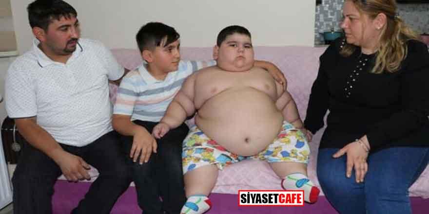 Samsun'da aile dramı... 4 yaşında 70 kilo!