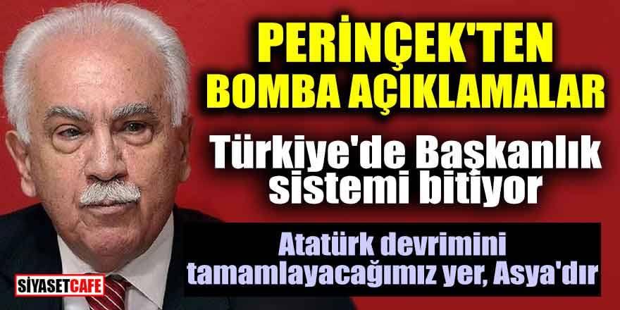 Doğu Perinçek: Türkiye'de Başkanlık Sistemi bitiyor!