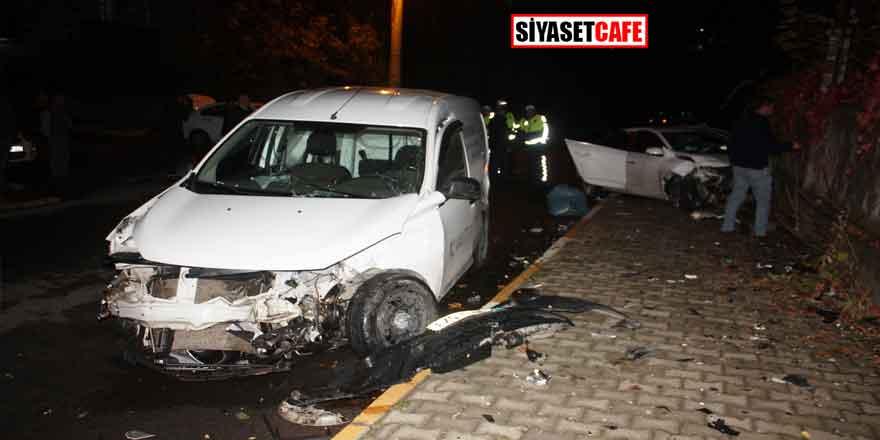 Diyarbakır'da feci çarpışma! 4 ikişi yaralandı