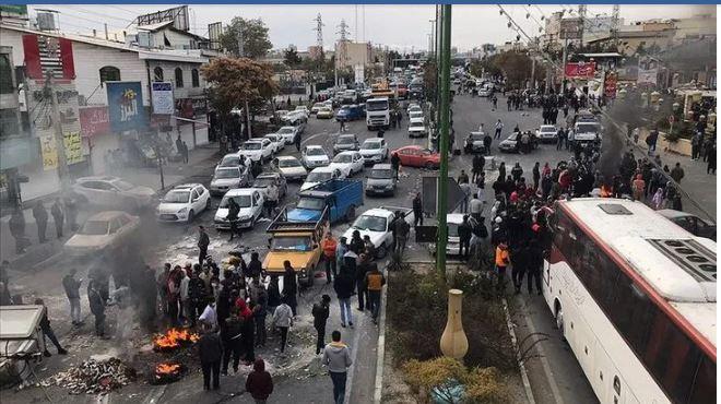 İran'daki kanlı eylemlerde en az 208 kişi öldü!