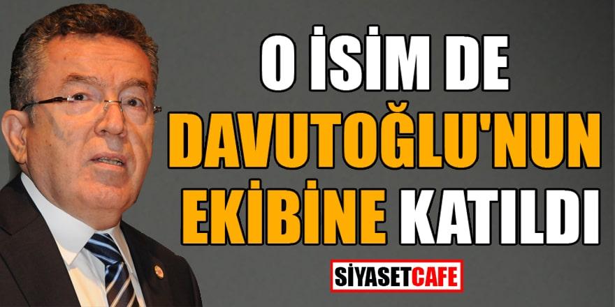 Eski YÖK Başkanı Prof Dr. Yusuf Ziya Özcan, Davutoğlu'nun partisine katıldı