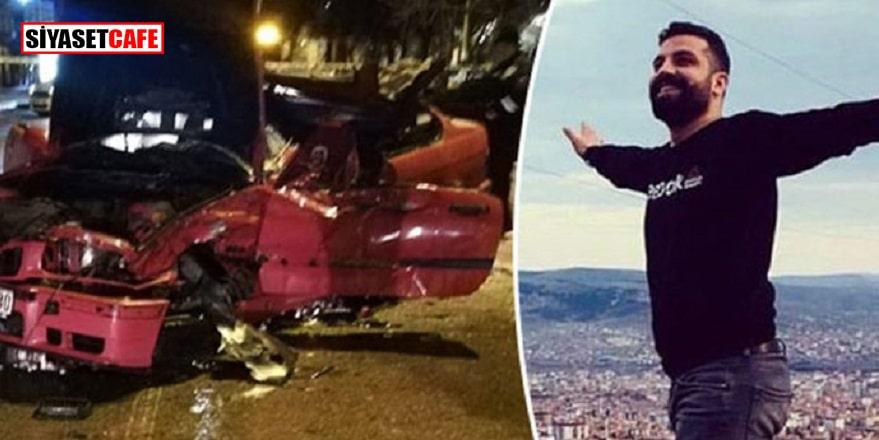 Genç muhabir kazada öldü